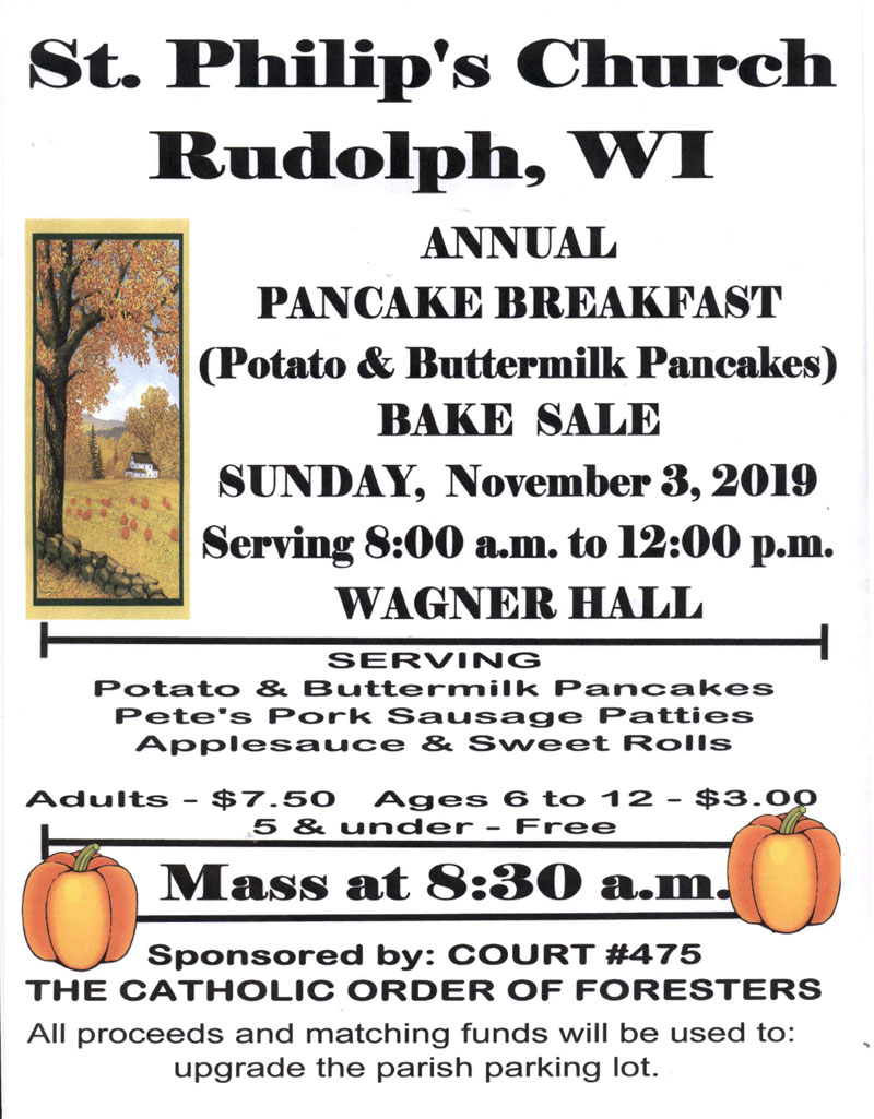 2019 Pancake Breakfast